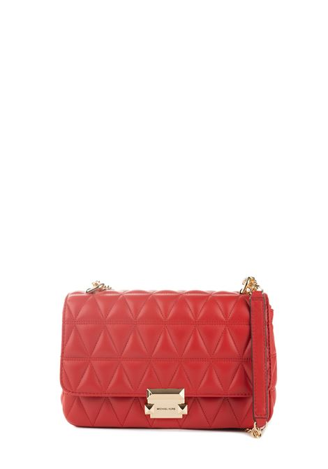 SLOAN RED SHOULDER BAG MICHAEL DI MICHAEL KORS | Bags | 30S7GSLL3LSLOAN683