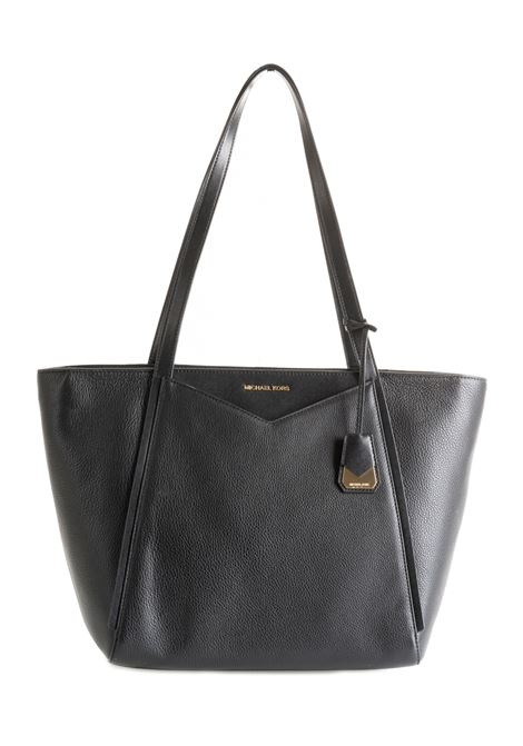 BLACK BAG WITH LOGO MICHAEL DI MICHAEL KORS | Bags | 30S8GN1T3LWHITNEY001