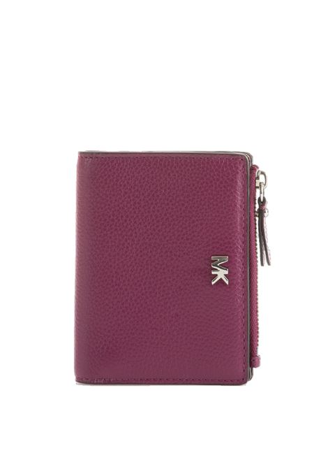 LEATHER WALLET MICHAEL DI MICHAEL KORS | Wallets | 32F8SF6F2LMONEYPIECES528