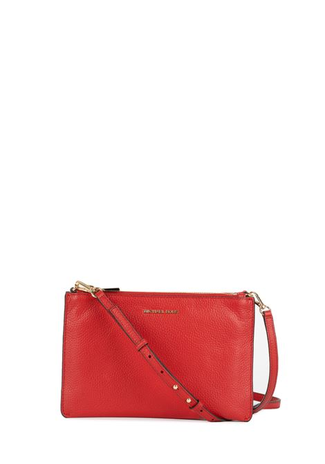 RED LEATHER BAG WITH LOGO MICHAEL DI MICHAEL KORS | Bags | 32S9GF5C4LCROSSBODIES683