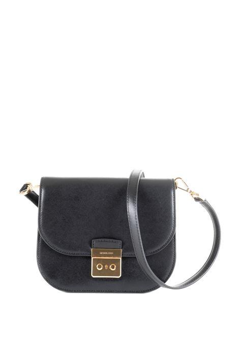 BLACK BAG WITH BACK FRONT LOGO MICHAEL DI MICHAEL KORS | Bags | 32T9GS9C1LSLOANEDITOR001