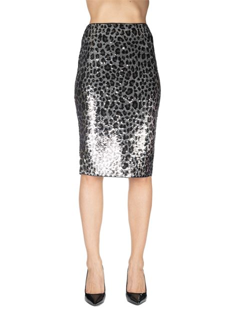 TUBE SKIRT WITH LEOPARD EFFECT PAILLETTE MICHAEL DI MICHAEL KORS | Skirts | MF97EZXCJE033
