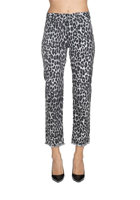PANTS IN DENIM ANIMALIER MICHAEL DI MICHAEL KORS | Jeans | MF99CRKCFW033