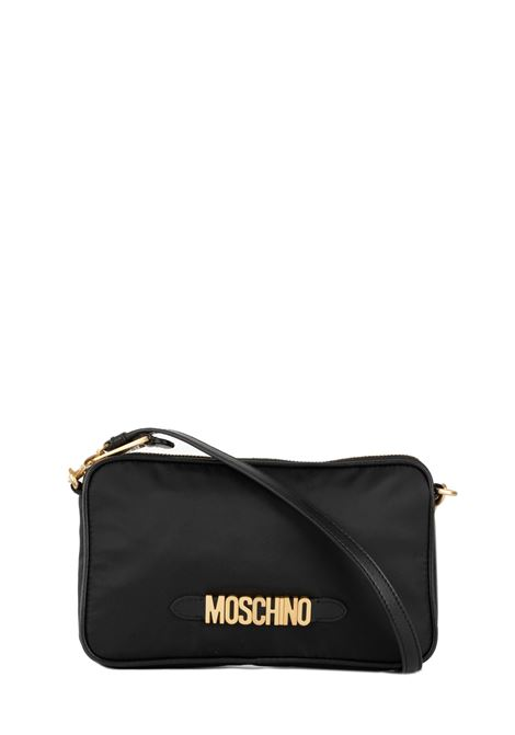 BLACK BAG WITH LOGO MOSCHINO | Bags | 74188202B1555