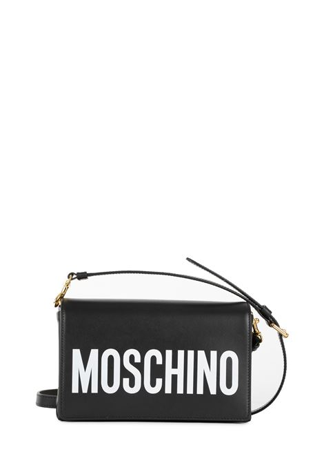 BLACK BAG WITH LOGO MOSCHINO | Bags | 74238001A1555