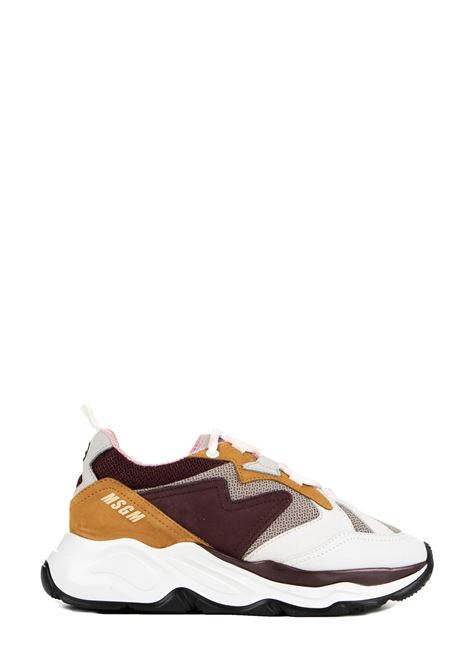COLOR-BLOCK SNEAKERS WITH LOGO MSGM | Sneakers | 2741MDS208670420