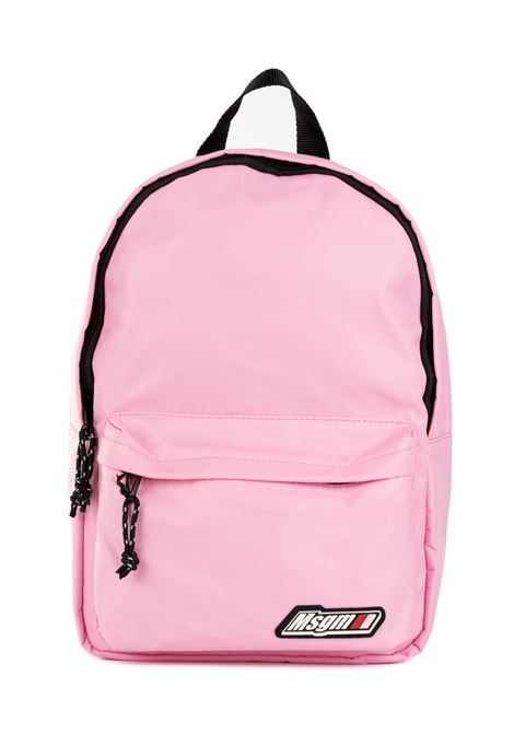 PINK BACKPACK WITH LOGO MSGM | Backpacks | 2741MDZ20589012