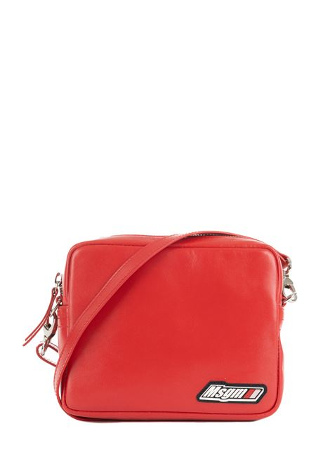 RED MARSUPIO WITH LOGO MSGM | Bags | 2741MDZ64554518