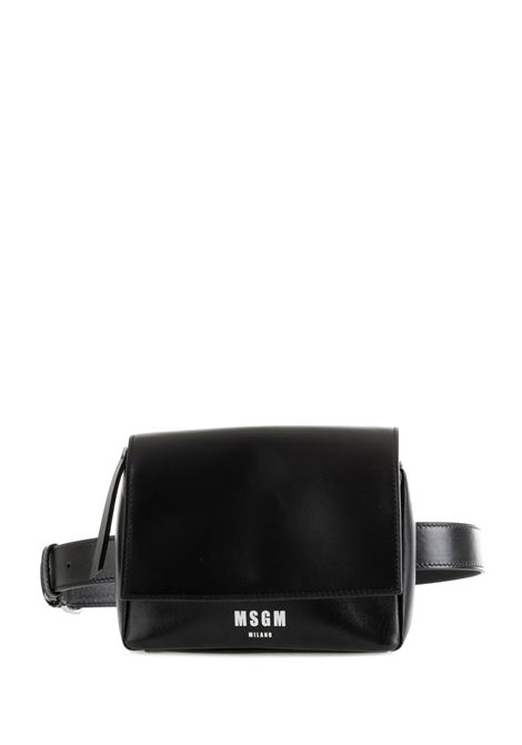 BLACK BAG WITH LOGO MSGM |  | 2741MDZ70005899