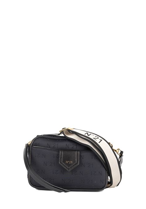 BLACK SHOULDER BAG WITH LOGO N°21 | Bags | N06210MOL002N0001