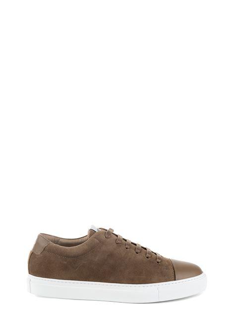 SNEAKER MARRONE IN PELLE SCAMOSCIATA NATIONALSTANDARD | Sneakers | M0319F039