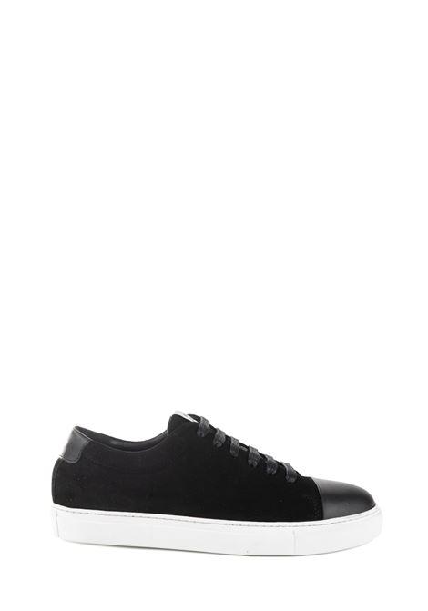 SNEAKER NERA IN PELLE SCAMOSCIATA NATIONALSTANDARD | Sneaker | M0319F099