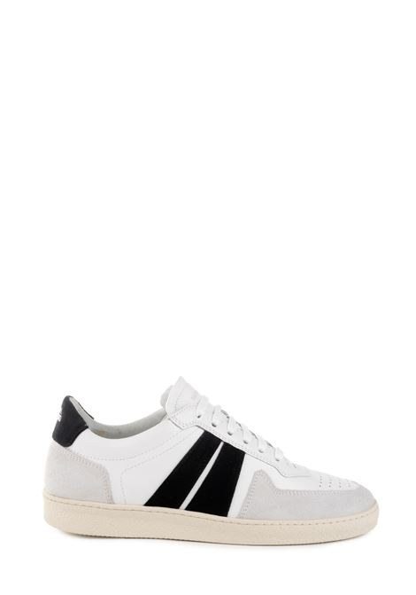 SNEAKER EDITION 6 WHITE WITH BLACK BANDS NATIONALSTANDARD | Sneakers | M0619F039