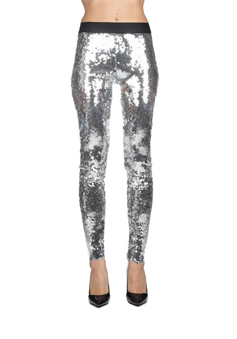 SILVER FULL PAILLETTES TROUSERS Nude | Pants | 110300359