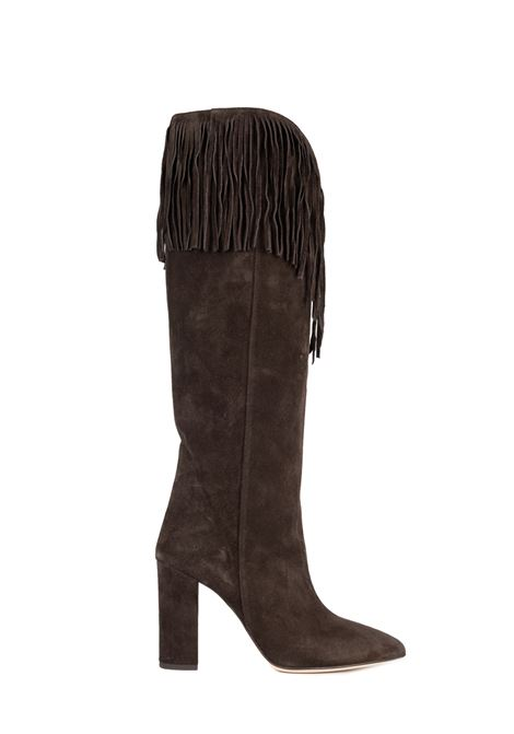 BROWN SUEDE LEATHER BOOT PARIS TEXAS |  | PX179VELOURMARRONE