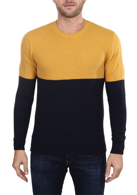 BICOLOR MESH IN WOOL MIXED PAUL MOMOIR | Sweaters | 919415A03