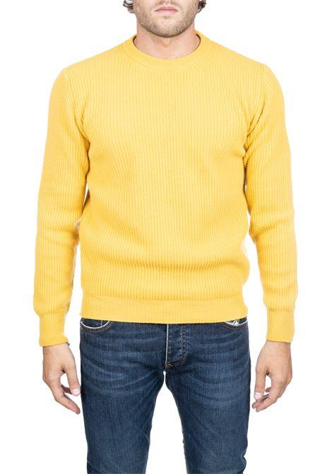 YELLOW WOOLEN MESH SHIRT PAUL MOMOIR | Sweaters | 919422A04