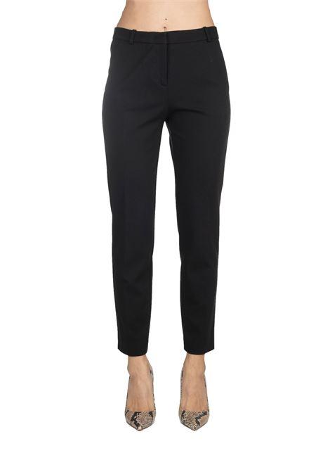 LOVELY BLACK PANT 6 IN REINFORCED DOUBLE PINKO   Pants   BELLA6 1G14EJ7642Z99
