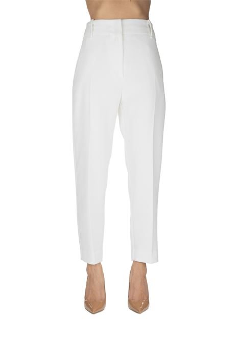 BEAUTIFUL WHITE PANT 74 FABRIC POINT PINKO | Pants | BELLO74 1G14GE1739Z08