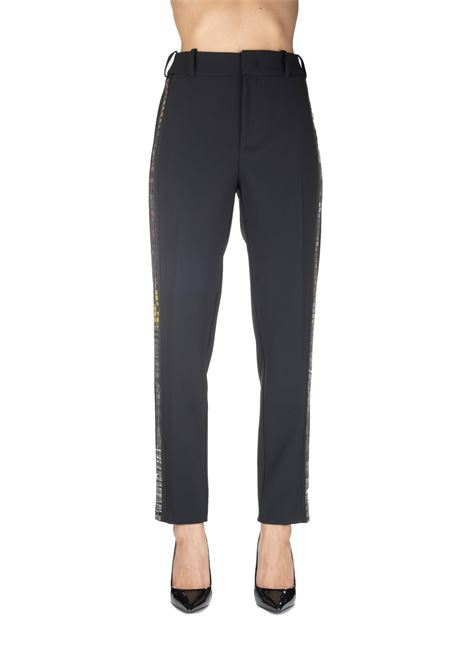 BLACK EMILIO 1 CREPE PANTS PINKO | Pants | EMILIO1 1B148B7210Z99