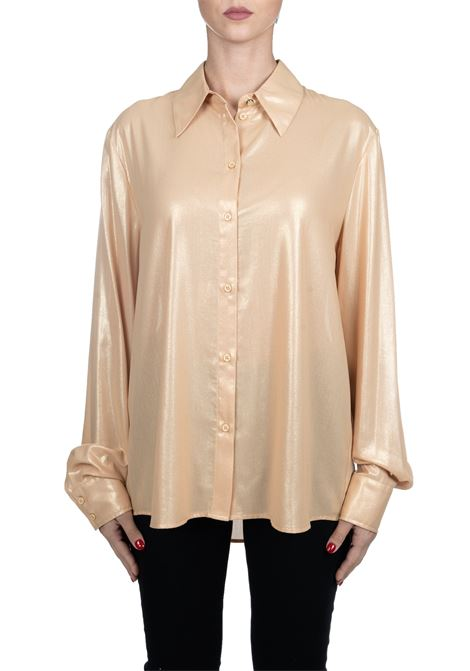 SHIRT DAMPING GOLD COLOR PINKO | Shirts | SMORZARE1G14J97673H55
