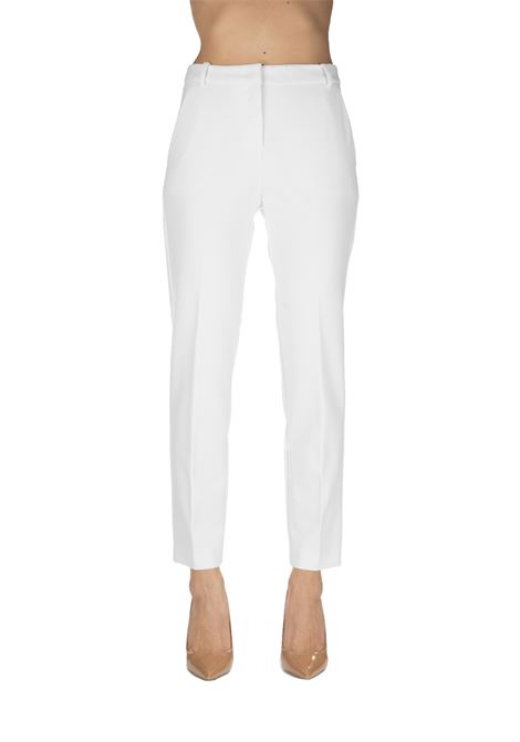 WHITE PANTS TENDERNESS 1 TECHNICAL ARMOR PINKO | Pants | TENEREZZA1 1B13ZV7642Z06
