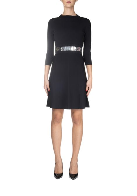 WALLIS-FREE BLACK DRESS UNITA PINKO | Dress | VALLESE1B1465Y5SSZ99