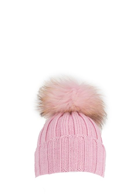 ROSE WOOL HAT WITH POMPON REGINA | Hats | 90599MANDORLO