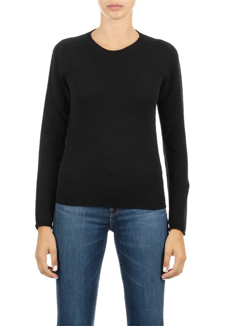 BLACK MESH ROBERTO COLLINA | Sweaters | 33001B3309