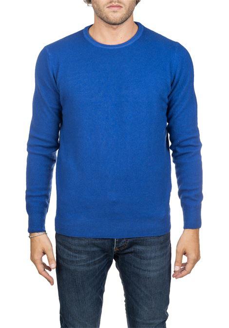 BLUE WOOLEN CLASSIC SHIRT ROBERTO COLLINA | Sweaters | 40101B4015