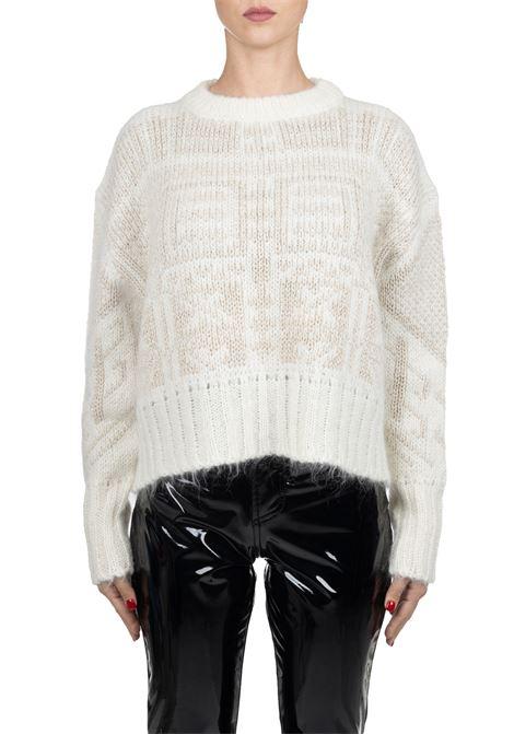 SWEATER IN MOHAIR AND WOOL ROBERTO COLLINA | Sweaters | 43001/MAXIB4301
