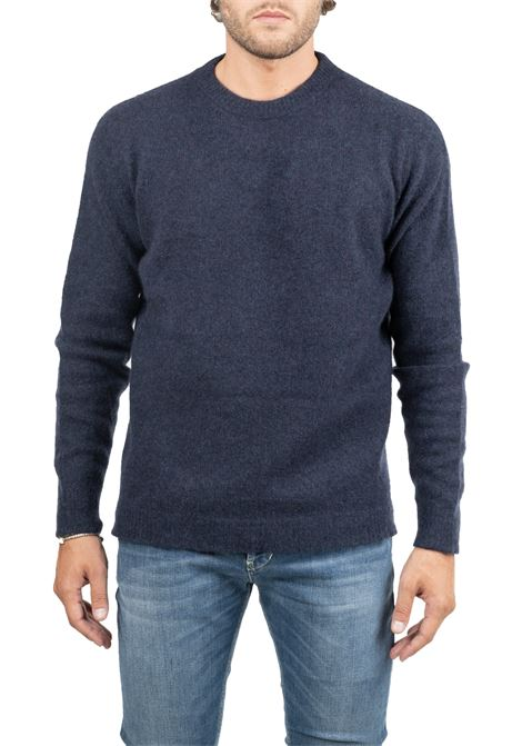 CLASSIC BLUE SWEATER ROBERTO COLLINA | Sweaters | RB32001RB3210