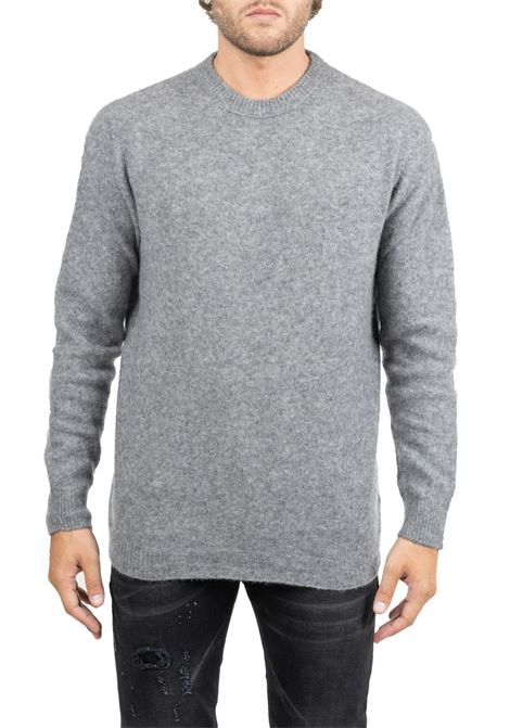 CLASSIC GRAY SWEATER ROBERTO COLLINA | Sweaters | RB32001RB3218