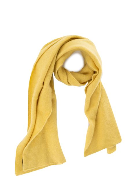 YELLOW SCARF WITH LOGO ROBERTO COLLINA | Scarfs | RB32050RB3243