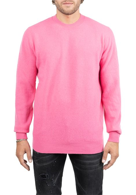 PINK WOOLEN SHIRT SUPERFINE ROBERTO COLLINA | Sweaters | RB38001RB3832