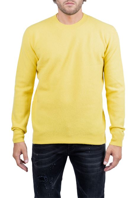 YELLOW WOOLEN SHIRT SUPERFINE ROBERTO COLLINA | Sweaters | RB38001RB3843