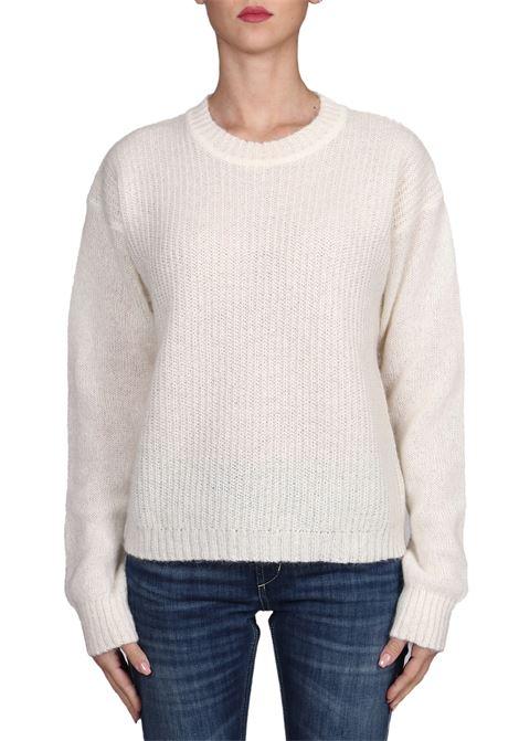 WHITE MESH MOHAIR SWEATER weili zheng | Sweaters | WWZKC54W01