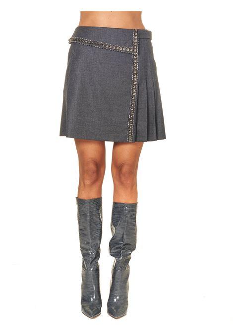 GRAY WOOL MIDI SKIRT ALBERTA FERRETTI | Skirts | A010351240596509