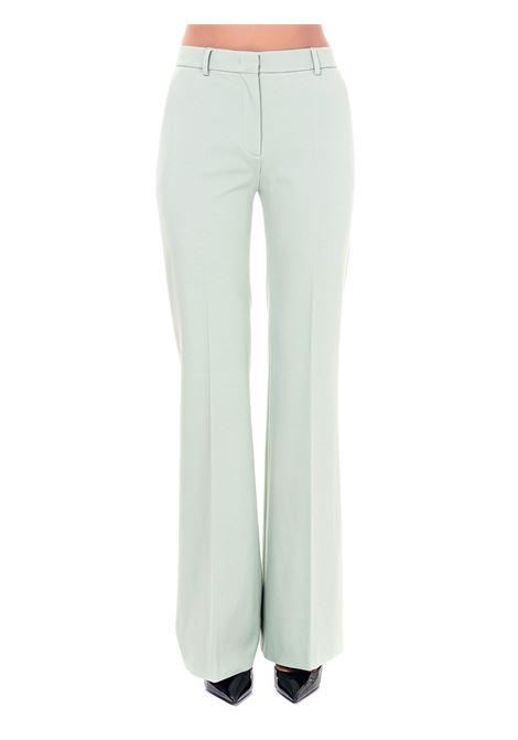 HIGH WAIST GREEN PANTS ALBERTA FERRETTI | Pants | A03186622405