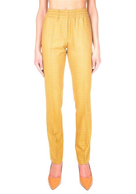 CHEK PANTS IN WOOL ALYSI | Pants | 150121A0040SOLE