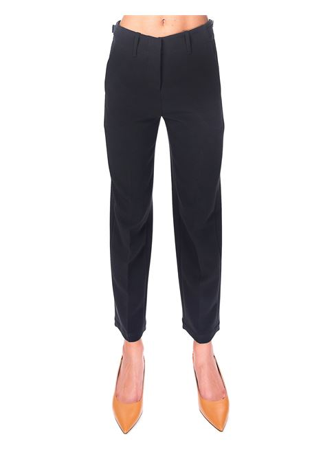 STRAIGHT CADY TROUSERS ALYSI | Pants | 150124A0066CARBONE