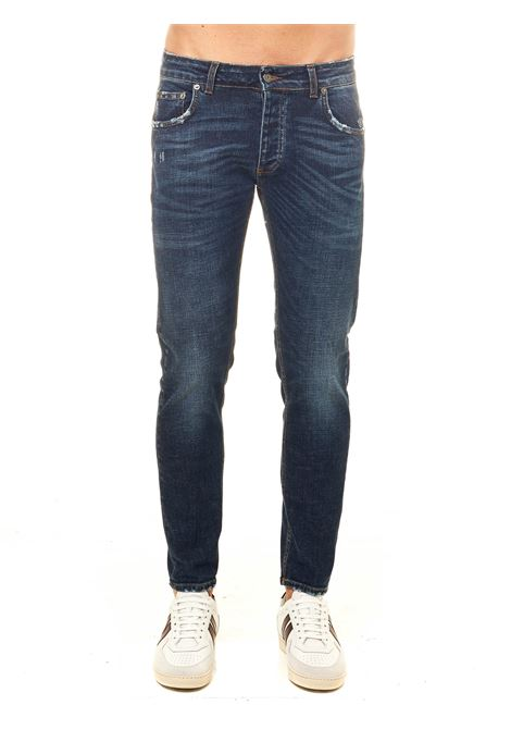 DAVIS SHORTER COTTON DENIM JEANS BE ABLE | Jeans | DAVISSHORTERHYCI18
