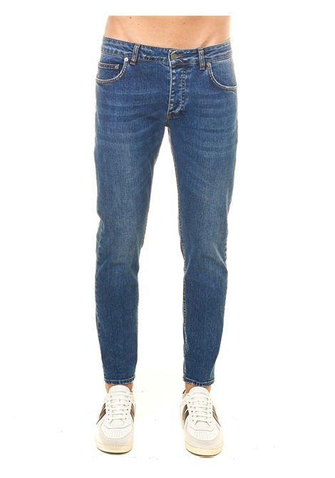DAVIS SHORTER COTTON DENIM JEANS BE ABLE | Jeans | DAVISSHORTERKPT1015