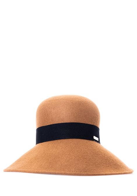 BEIGE WOOL HAT IN THE SHAPE OF A SHADE CATARZI | Hats | AI202CAT18CAMMELLO