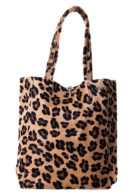 MULTICOLORED LEOPARD PRINT BAG WITH FRONT PLATE APPLICATION CATARZI | Bags | AI20CAT54LEOP