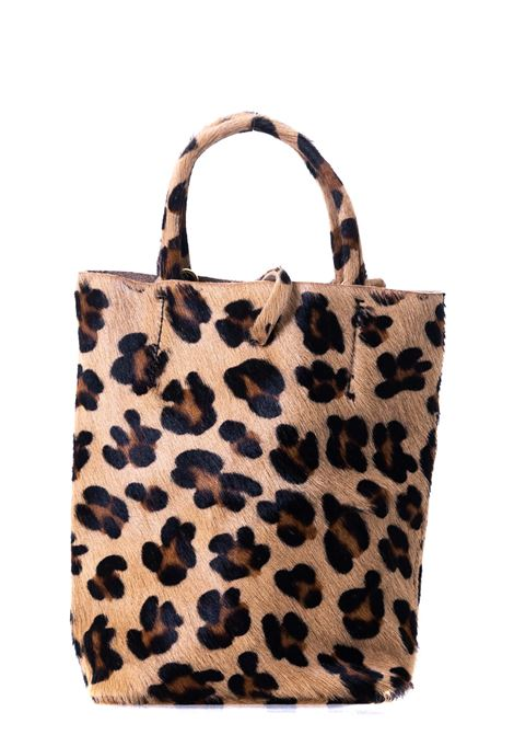 MULTICOLORED LEOPARD PRINT BAG WITH FRONT PLATE APPLICATION CATARZI | Bags | AI20CAT55LEOP