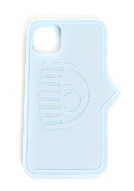 BLUE SILICONE IPHONE 11 PRO EYELIKE MODEL COVER CHIARA FERRAGNI | Case | CFCIP11P00411PROAZZURRO