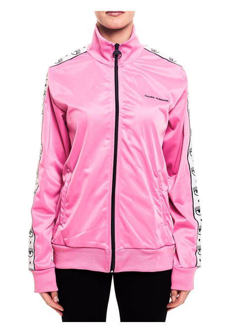 EYELIKE PINK SWEATSHIRT CHIARA FERRAGNI | Sweatshirts | CFF115ROSA