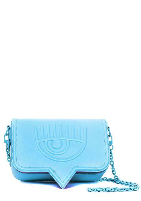 LIGHT BLUE EYELIKE MODEL BAG CHIARA FERRAGNI | Bags | CFPT006AZZURRO