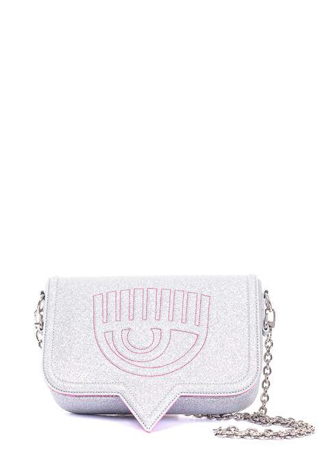 GLITTERED MINI BAG EYELIKE MODEL CHIARA FERRAGNI | Bags | CFPT007ARGENTO